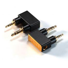 ddHiFi DJ44K 2.5mm balanced (male) to 4.4mm balanced (female) adapter for Astell and Kern DAP