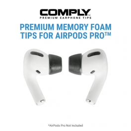 Comply Foam Tips 2.0 Compatible with AirPods™ Pro