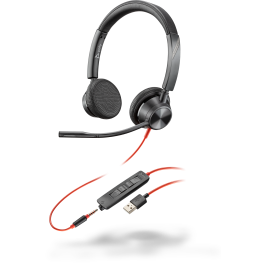 Poly Blackwire 3325 UC Corded Office headset
