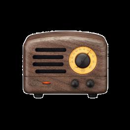 Muzen Audio OTR WOOD Portable Audio Speakers with FM Radio-Walnut Wood