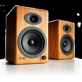 Audioengine A5+ Bamboo Bluetooth Wireless Speakers